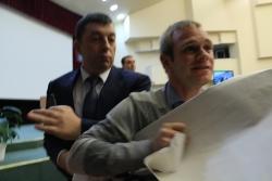 Столкновения в Саратовской областной думе