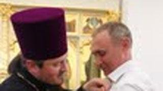 Саратовские меценаты награждены епархиальными медалями «Спас Нерукотворный»