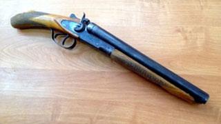 Мужчина застрелился из обреза незарегистрированного ружья