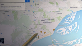 Полиция разработала карту Саратова с метками о правонарушениях