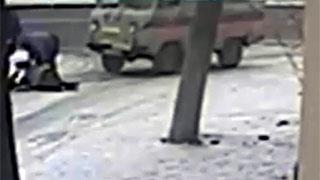 Смертельный наезд «скорой помощи» на женщину сняла видеокамера