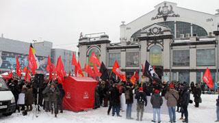 В Саратове состоялся объединенный митинг оппозиции