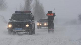 Автоинспекция перекрыла движение по трассе Саратов-Тамбов