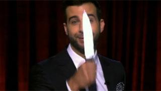 Иван Ургант с ножом передал привет Вольску