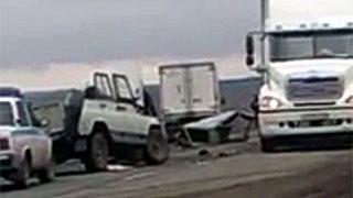 На федеральной трассе столкнулись фура и «УАЗ». Погиб человек