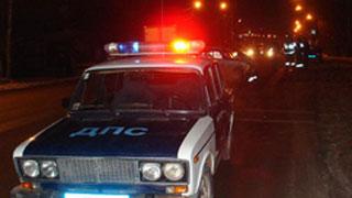 Сотрудники ГИБДД устроили погоню за автомобилем с наркоманами