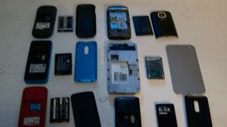 Убийце пытались передать в камеру 25 телефонов со стиральным порошком