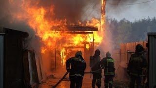 В Саратове на пожаре погибли трое детей