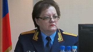 Уволена руководитель СУ СКР Татьяна Сергеева