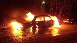 В столкнувшемся с фурой «ВАЗе» заживо сгорели три человека