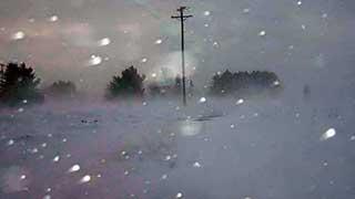В Саратовской области из-за снега сильно ухудшится видимость