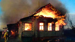 Пенсионер сжег себя неподалеку от места гибели женщины и ее детей