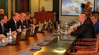 В «Газпром трансгаз Саратов» состоялось совещание с руководством региона