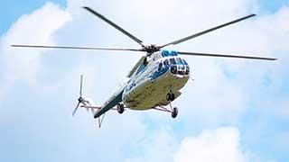 Правительство Саратовской области заказало вертолет с диваном и биотуалетом