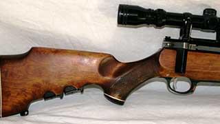 Автоинспекторы нашли в салоне внедорожника нелегальную винтовку
