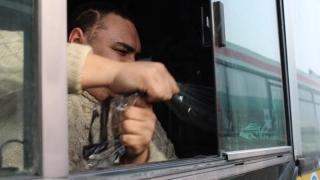 Водителя автобуса в Юбилейном наказали за излишнюю тонировку
