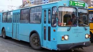 В Ленинском районе пассажирка троллейбуса получила перелом ноги