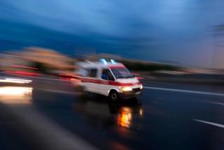 В рождественскую ночь из такси выпал мужчина