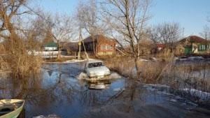 В Петровске Медведица затопила островную часть города