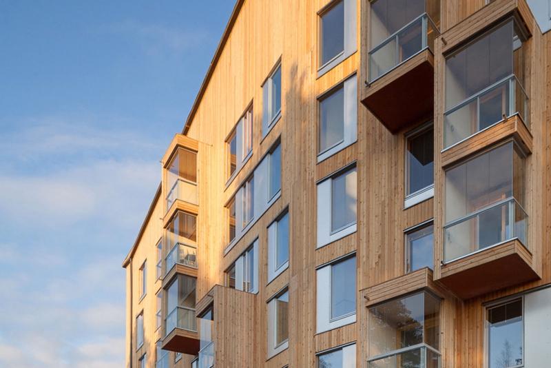 В РФ  хотят разрешить строительство деревянных многоэтажек