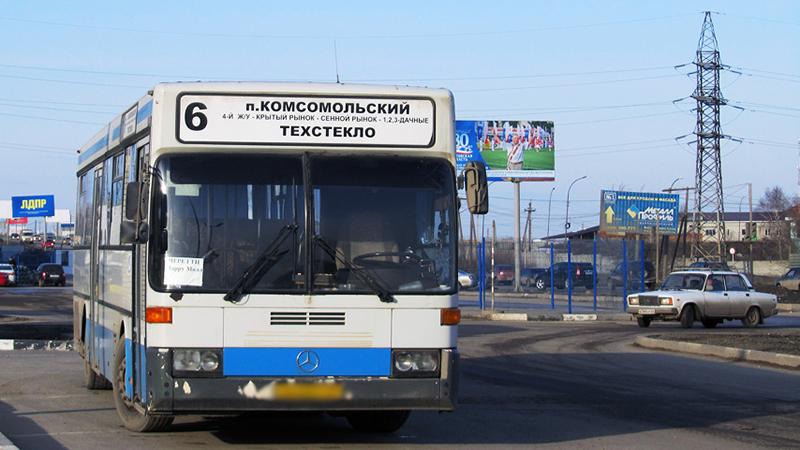 Пенсионерка упала вавтобусе 6-го маршрута