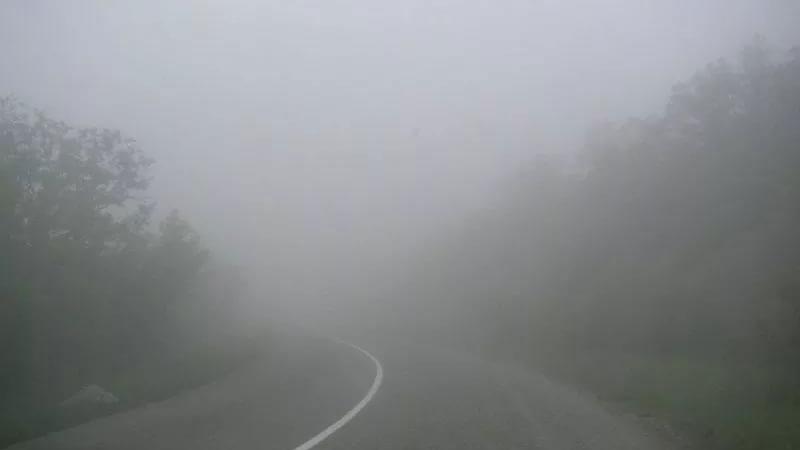 МЧС предупреждает водителей отумане имороси вСаратовской области